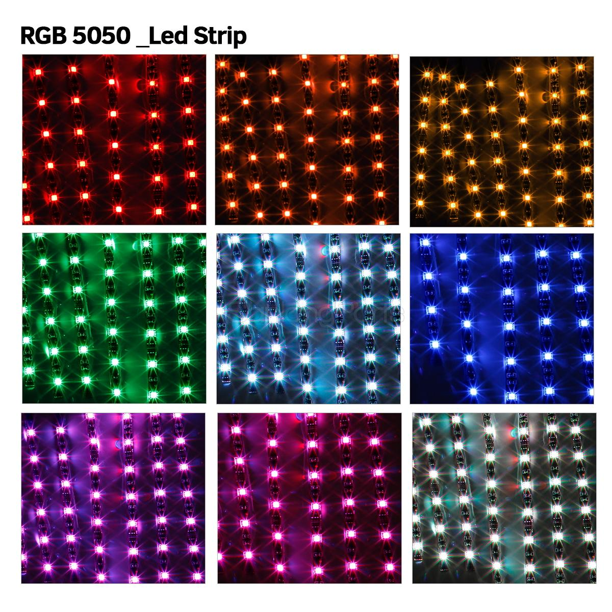 12x motorcycle led lights wireless remote multi color neon