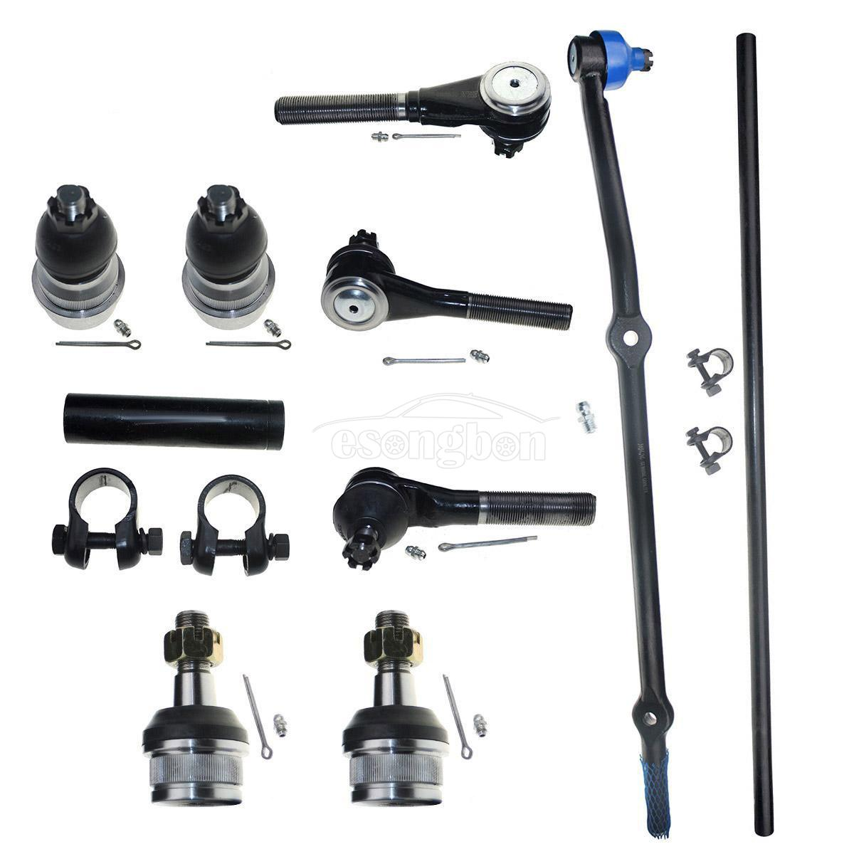 For 1991-2001 Jeep Cherokee Front Ball Joint Tie Rod Ends