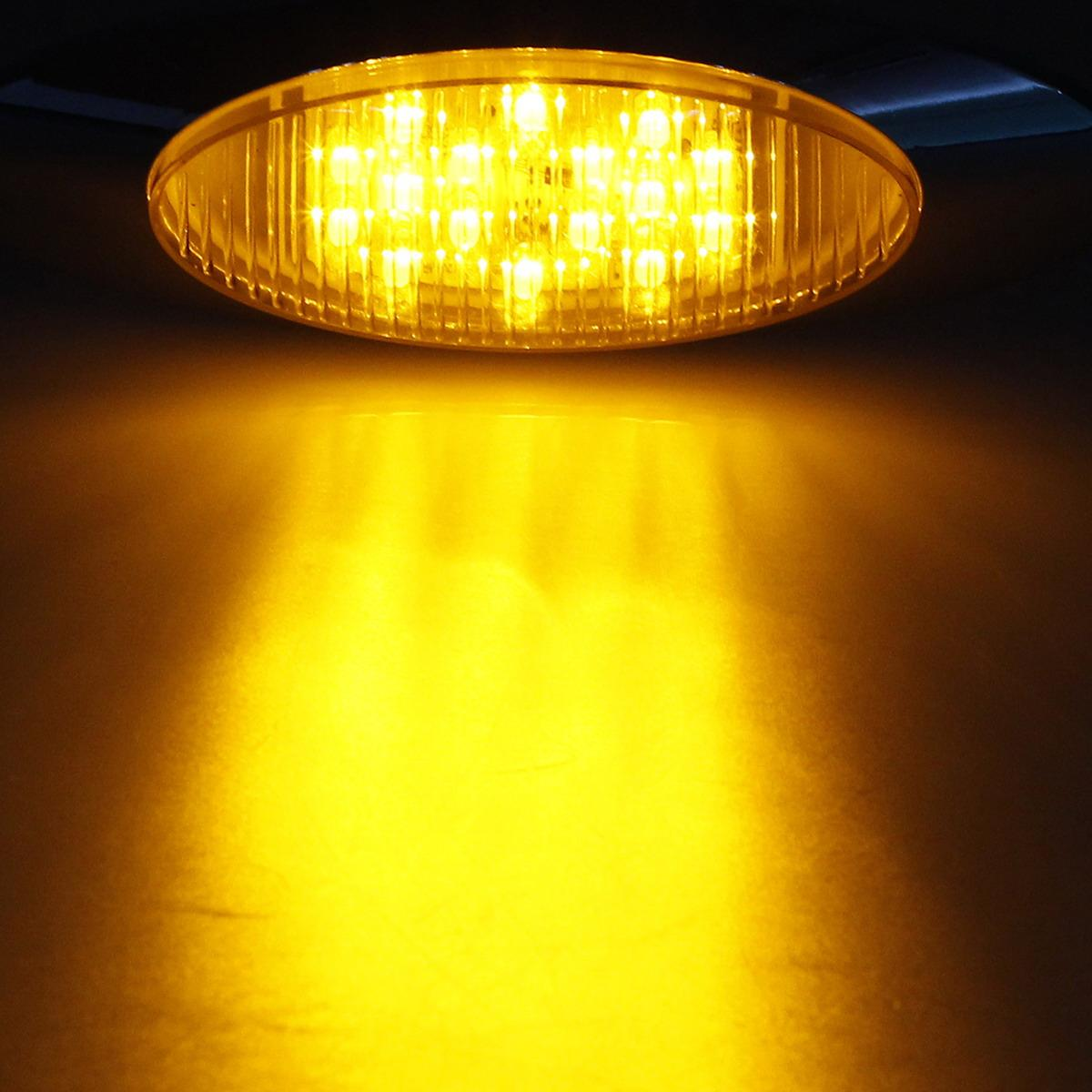 7x 6 5 Quot Side Marker Clearance Lights Amber 16 Led For