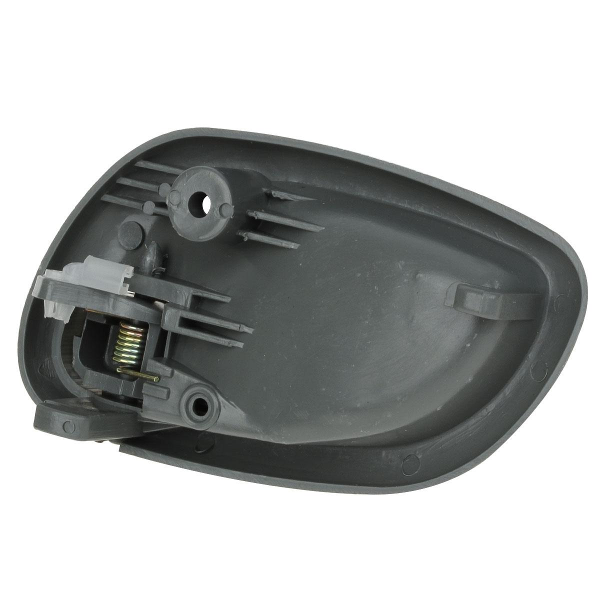 Pair Gray Internal Front Left Right Side Door Handle For