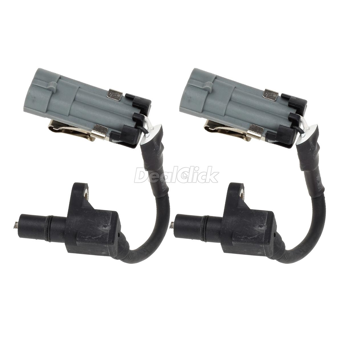 2pcs Front Left Amp Right Abs Wheel Speed Sensor For