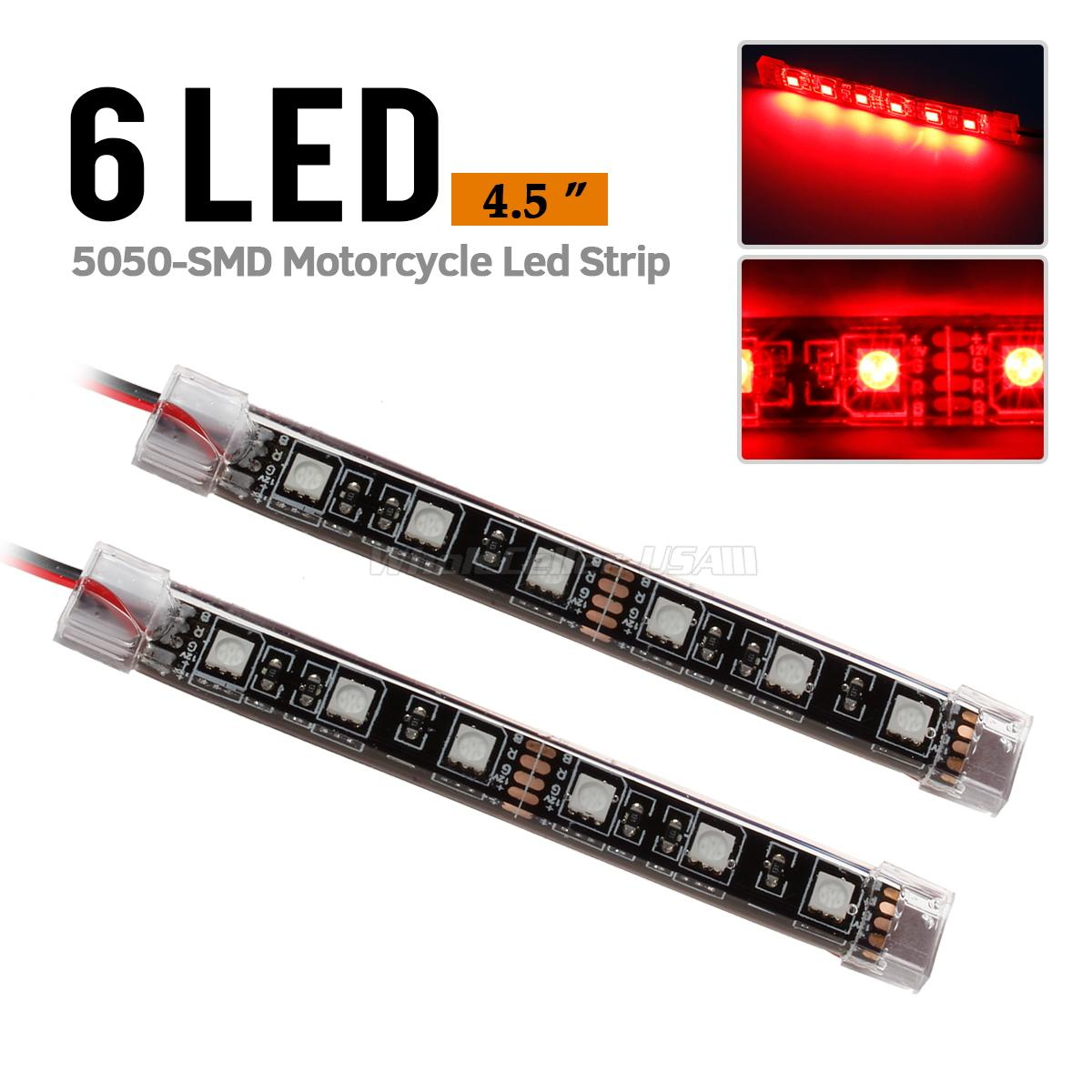 Led strip lights il motorcycle taillights impossible