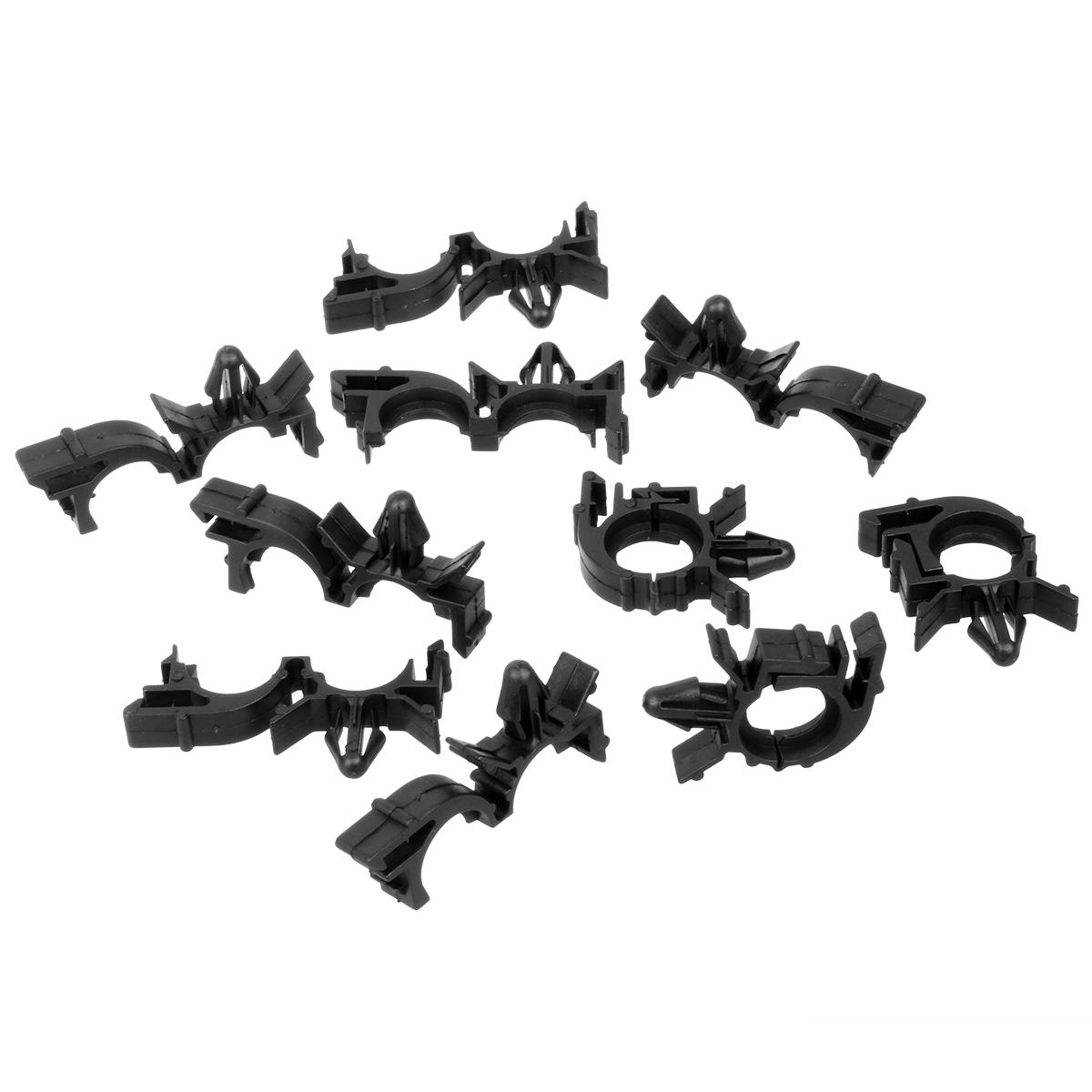 50pcs Wire Loom Routing Split Conduit Clips Retainer