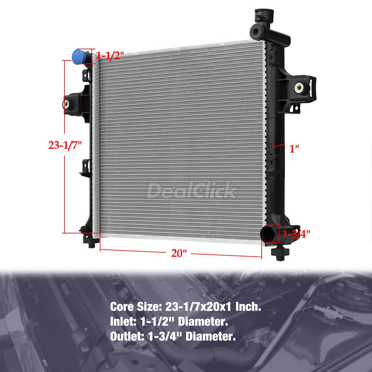 2009 Jeep Commander Exterior: STAYCO Radiator 2839 For 2006-2009 JEEP COMMANDER