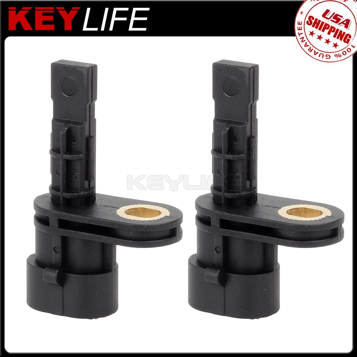 2x For 2008 2009 Pontiac G8 3 6l 6 0l 6 2l Abs Wheel Speed Sensor Rear Ebay