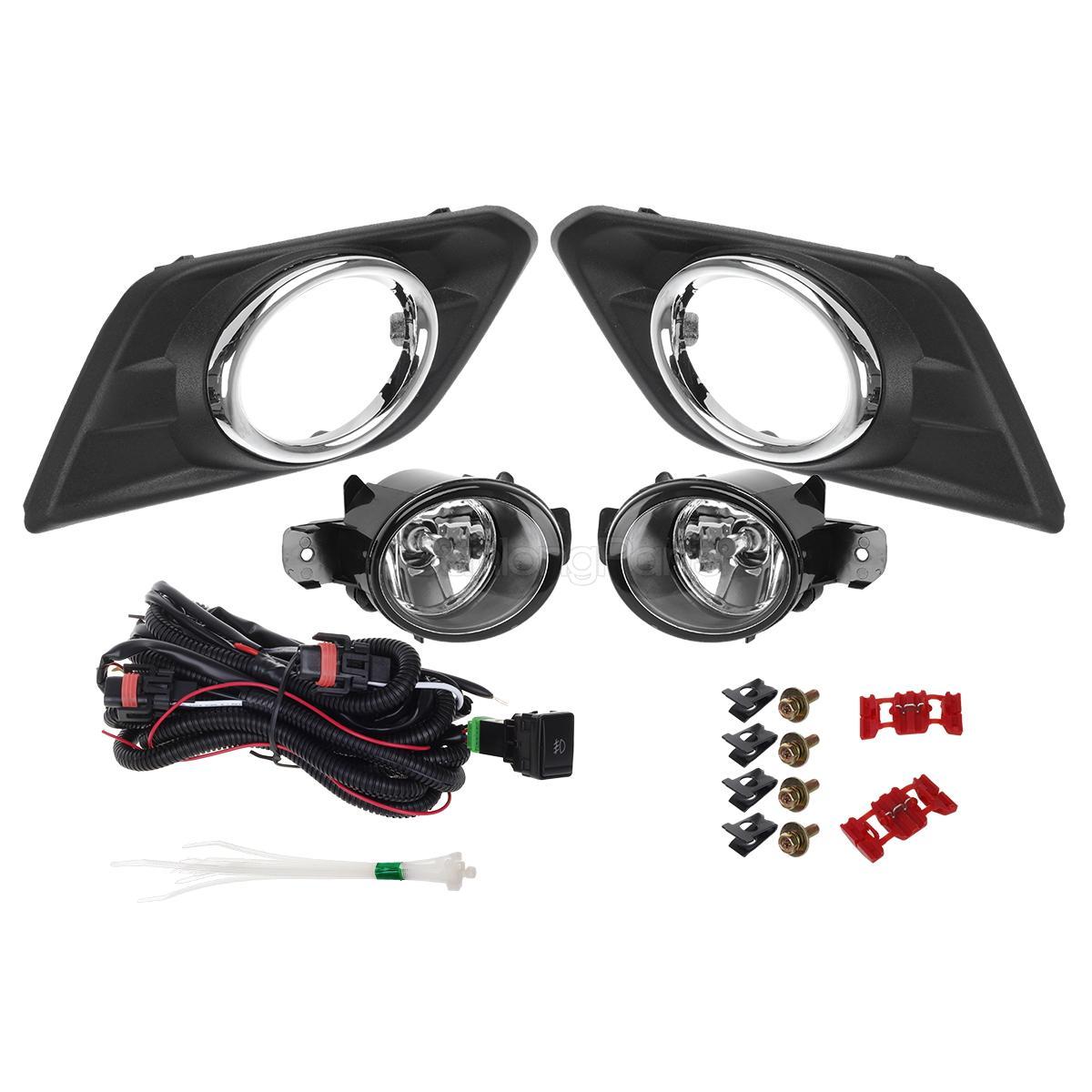 Spot Fog Light Lamp Switch Kit For Nissan X Trail X