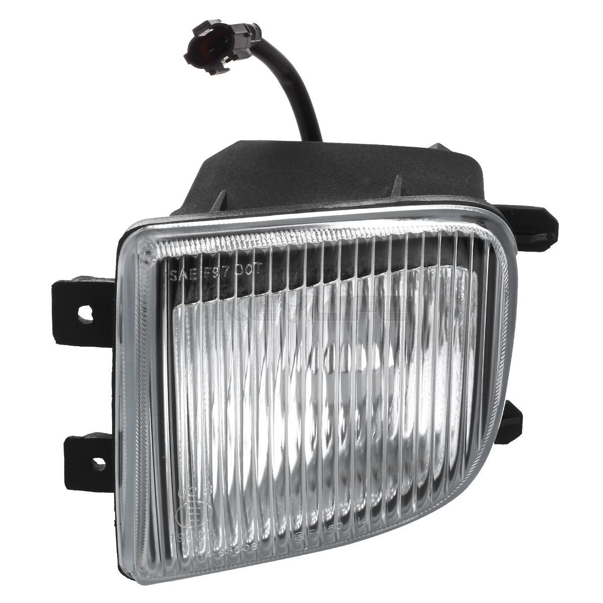 for 1999 2004 nissan pathfinder glass clear bumper fog light l pair w bulbs ebay