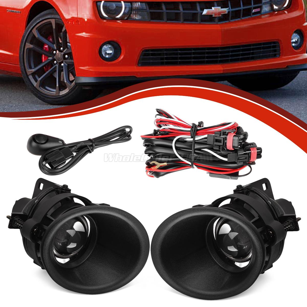 for 2014 2015 chevy camaro 3 6l v6 glass projector fog