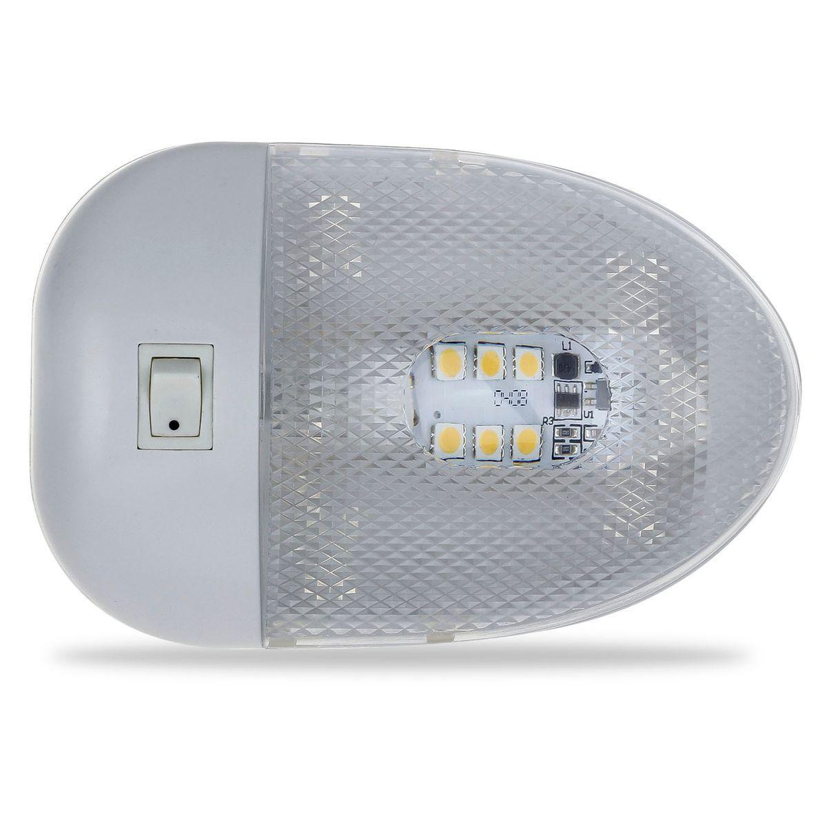 Dome Cargo Lights Fixtures 12v Led Ceiling Interior Camper Boat Rv Trailer Ebay