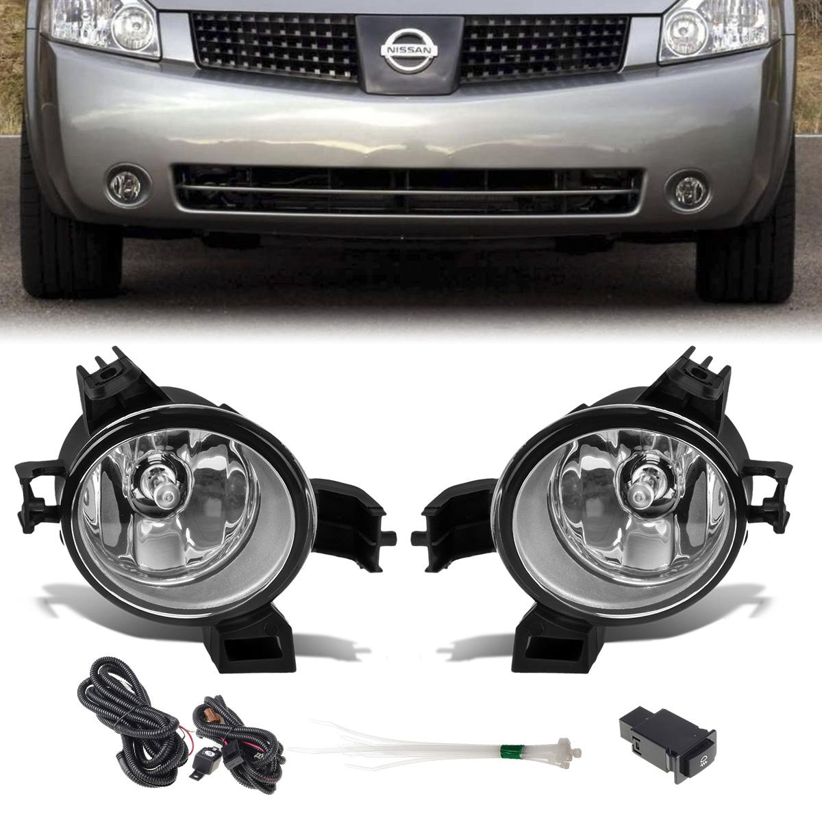 For 2005 2006 Nissan Altima 2004 2005 2006 Nissan Quest Clear Fog Light Kit Ebay