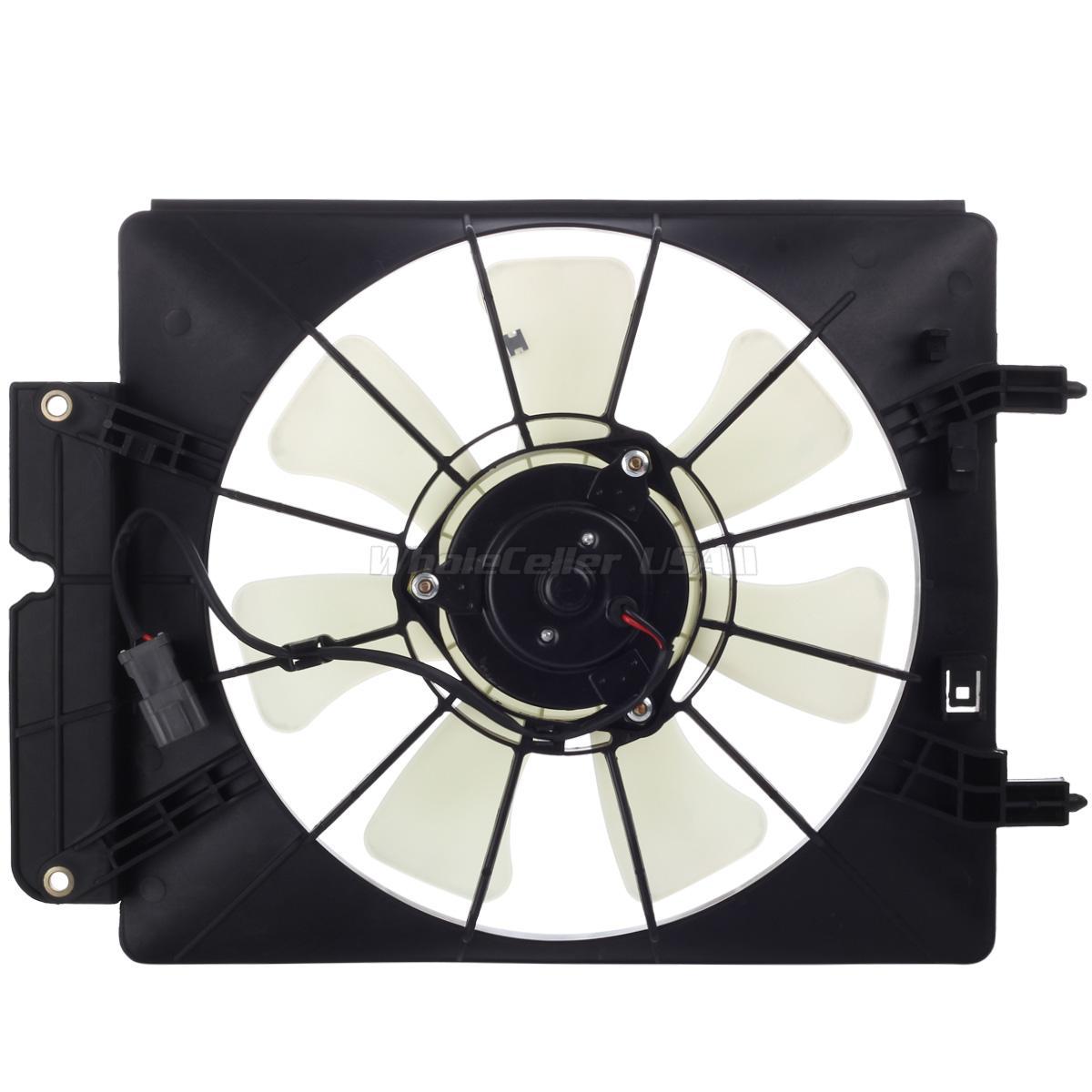 02 Cool Fan : Ac condenser cooling fan for honda cr v element