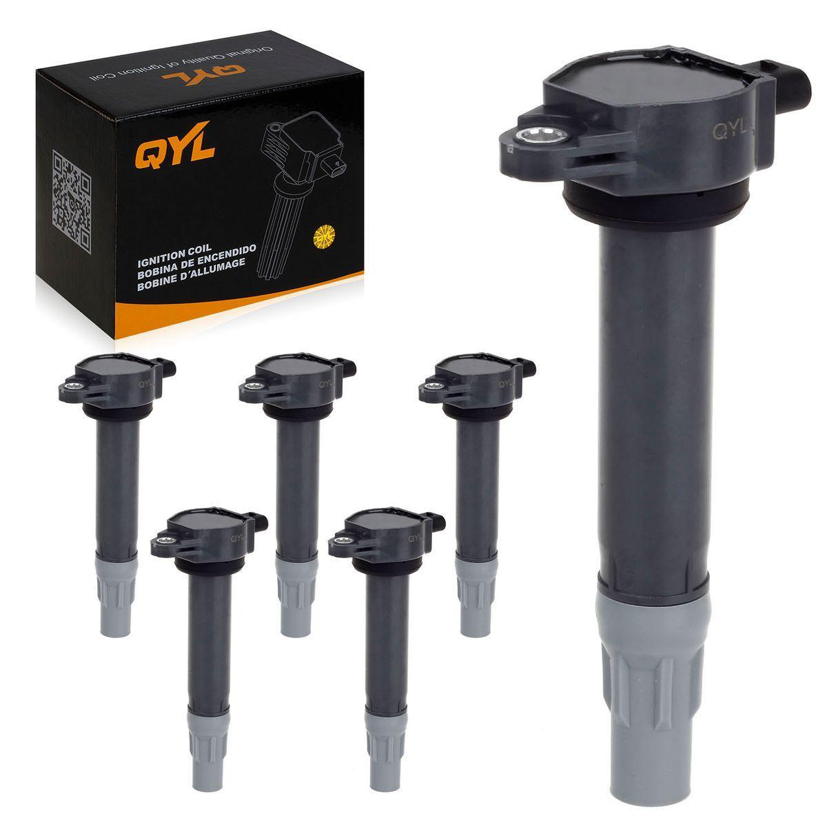 Qyl 6 Ignition Coil Pack For 06 10 Chrysler 300 Sebring V6