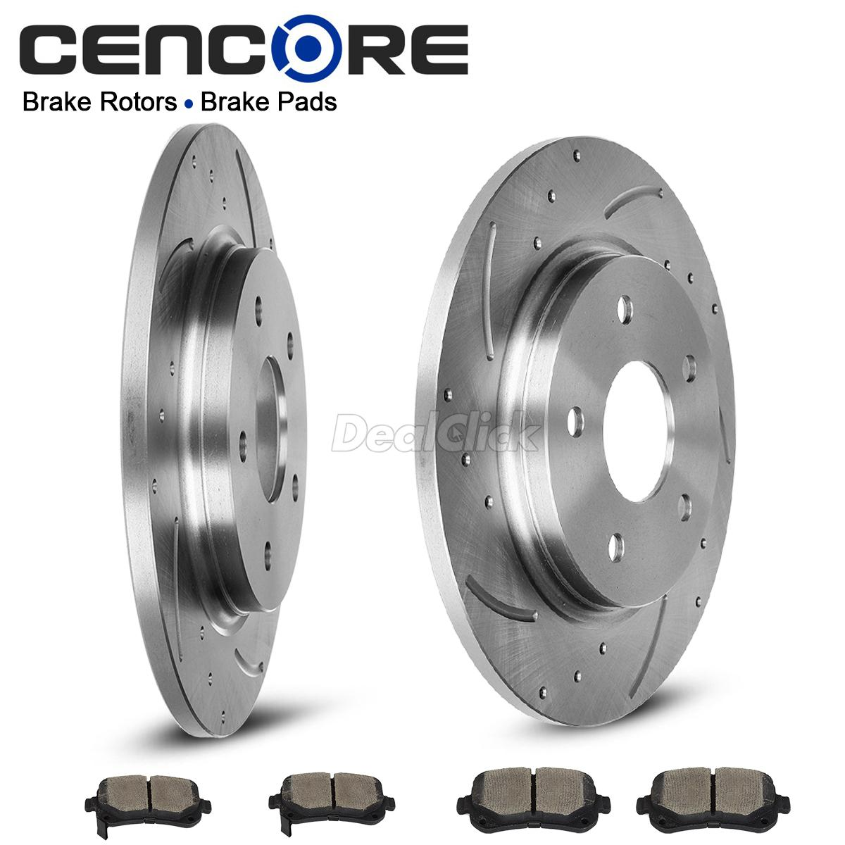 Chrysler Town And Country 2008 For Sale: Rear Kit Brake Rotors Ceramic Pads For Chrysler Town