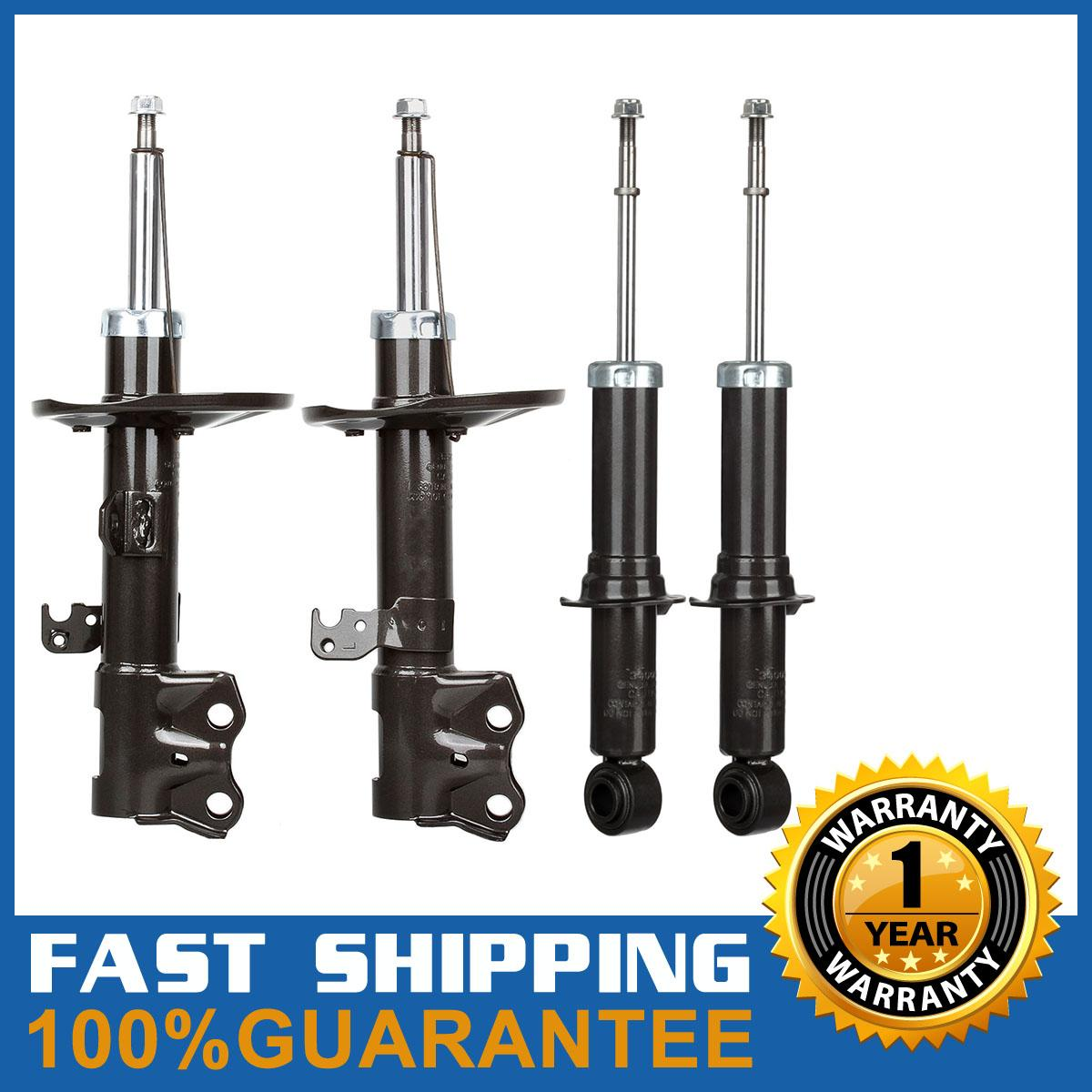 for 09 13 toyota matrix 1 8l only full kit shocks struts. Black Bedroom Furniture Sets. Home Design Ideas
