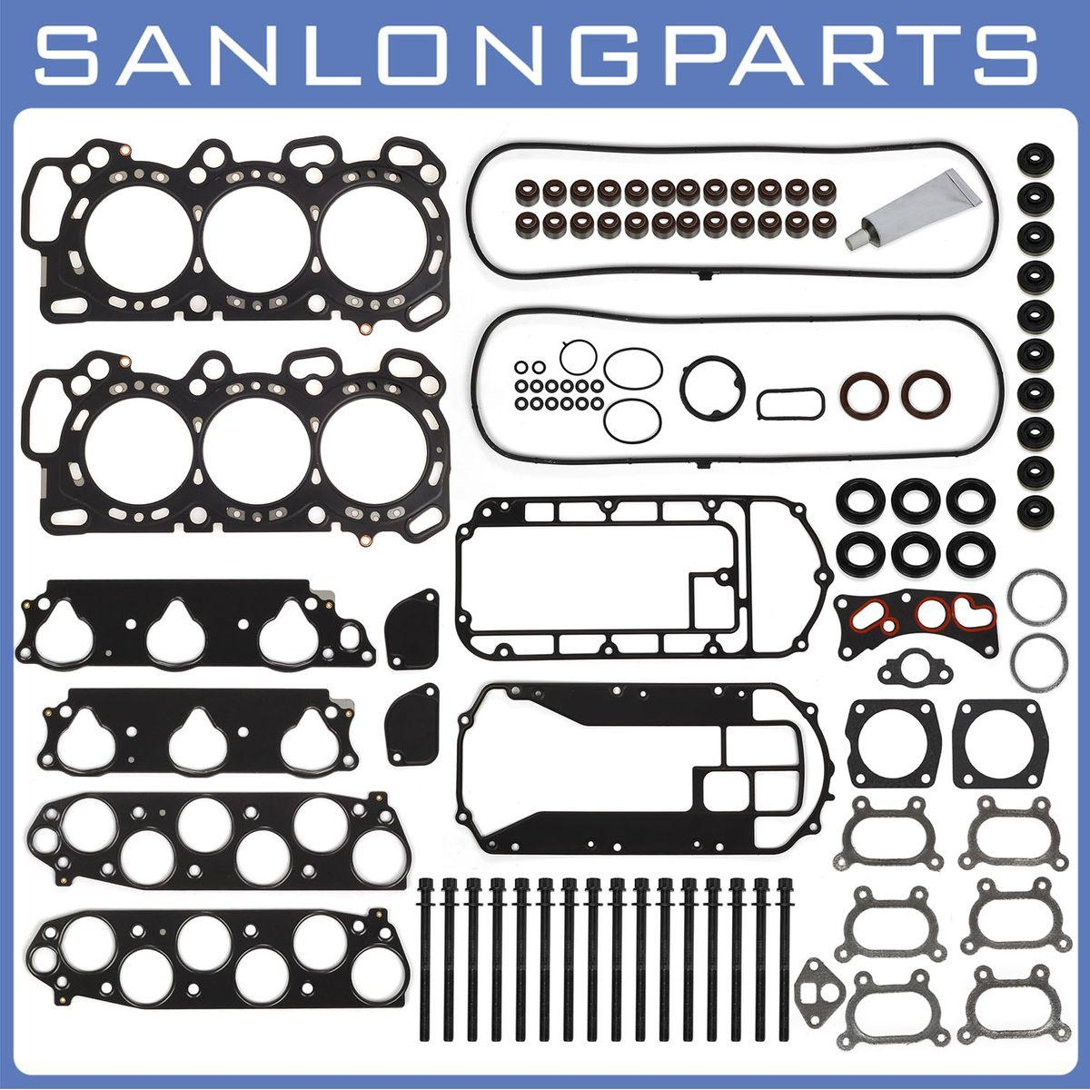 Acura Tl Cylinder Head Gasket Sets: For 05-09 Acura MDX TL Honda Head Gasket Bolts Set 3.2 3