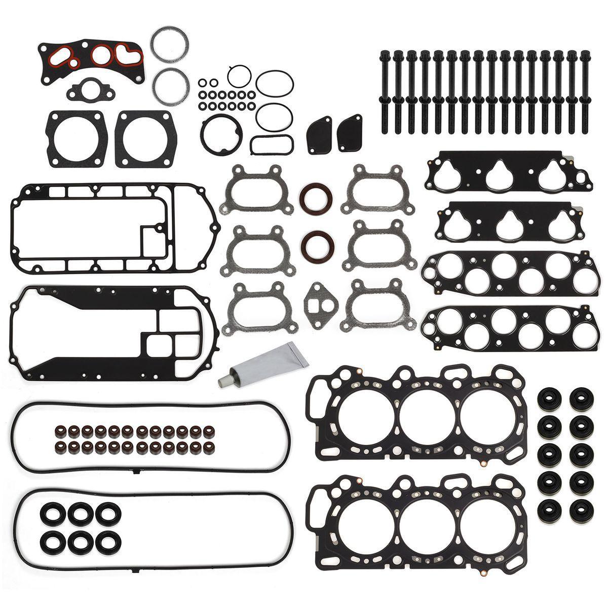 For 05-09 Acura MDX TL Honda Head Gasket Bolts Set 3.2 3