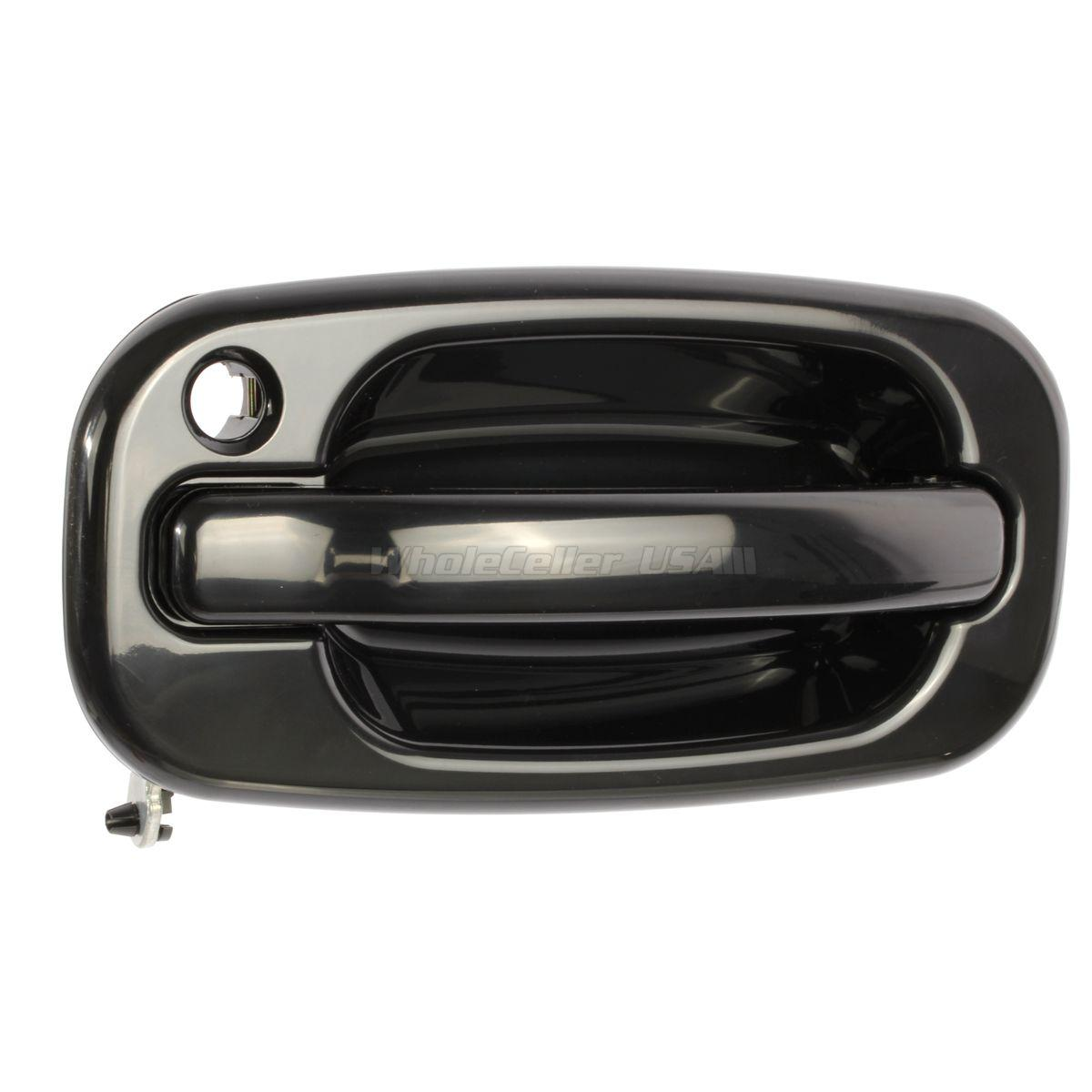 2012 Chevrolet Suburban 1500 Transmission: Outer Black Front Left LH Door Handle For 03-06 Chevrolet