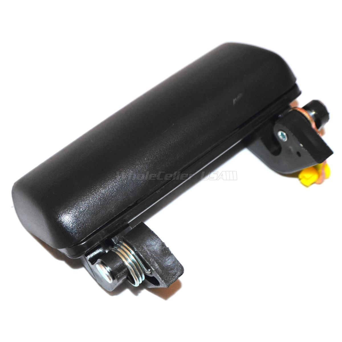 Black Exterior Outside Front Right Side Door Handle For